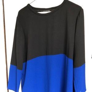 Zara Color Block Long Sleeve
